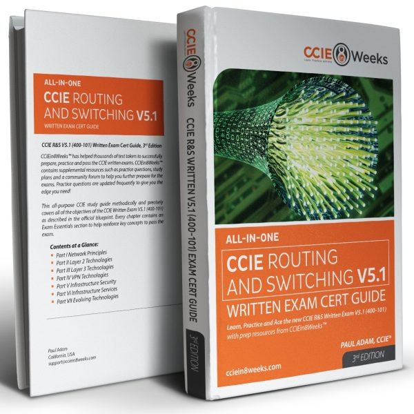 CCIE Routing and Switching 400-101 V5.1 3D Covers