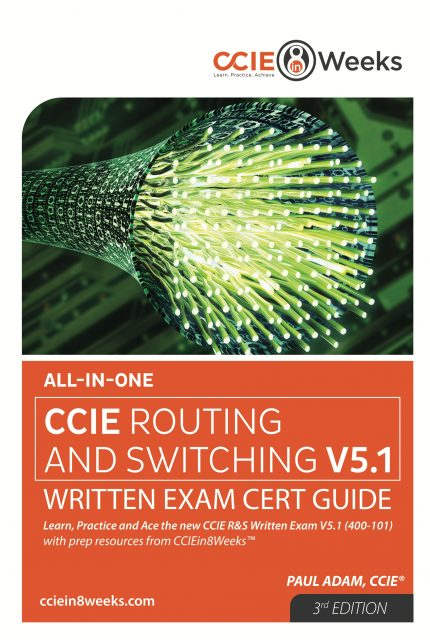 CCIE Routing and Switching 400-101 V5.1 Front Cover