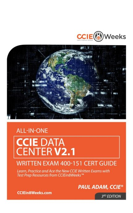 CCIEin8Weeks CCIE Data Center Study Guide V2.1 front