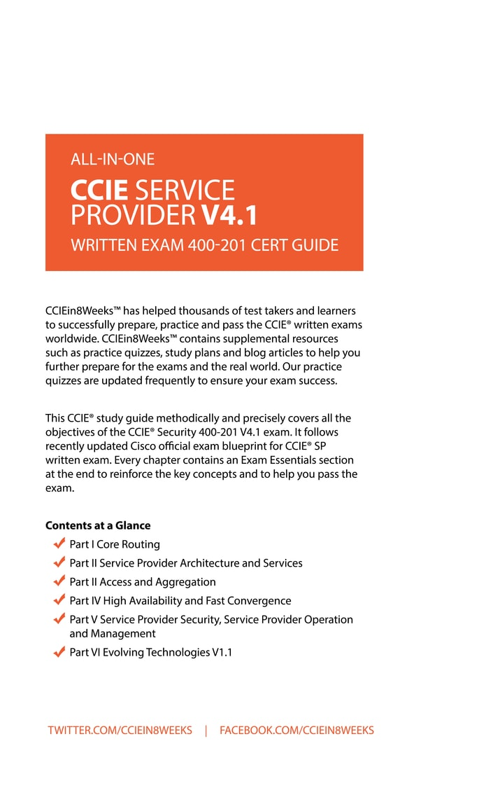 CCIE Study Guide - recommendations appreciated - 80350 ...