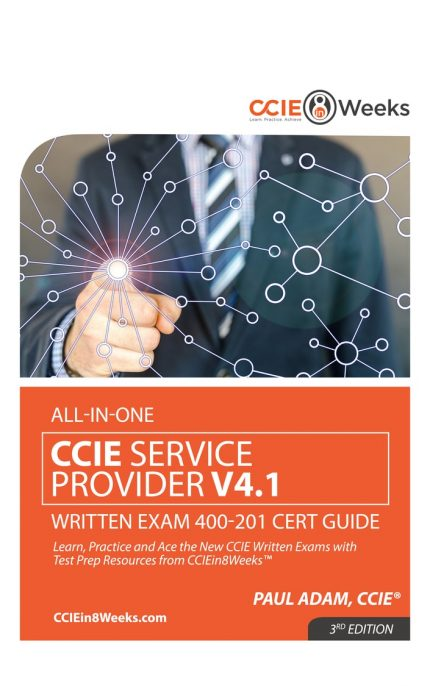 CCIEin8Weeks CCIE SP Study Guide V4.1 front