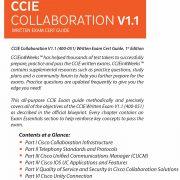 CCIE Collaboration 400-051 V1.1 Back Cover