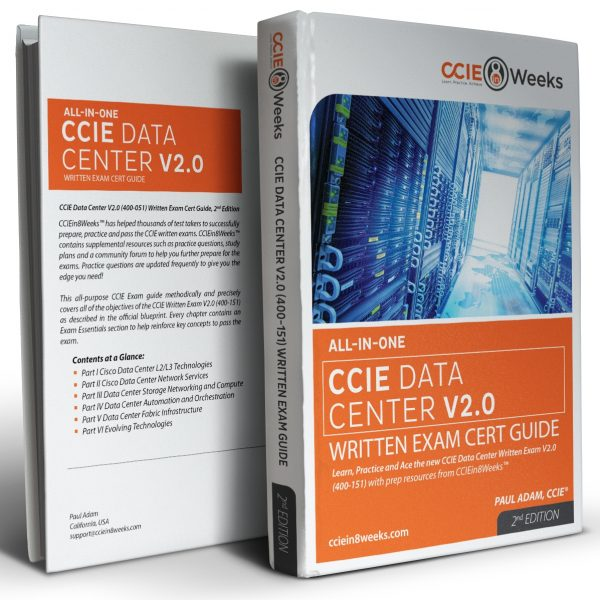 CCIE Data Center 350-080 V2.0 3D Covers