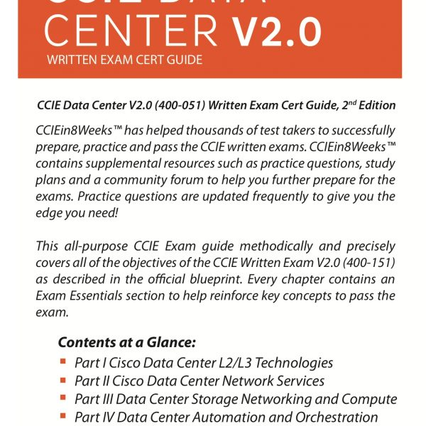 CCIE Data Center 350-080 V2.0 Back Cover