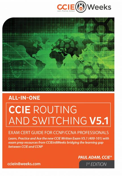 CCIE Routing and Switching 400-101 V5.1 CCNA CCNP Front Cover