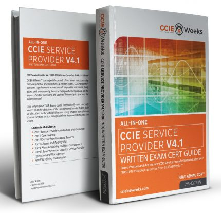 CCIE Service Provider 400-201 V4.1 3D Covers