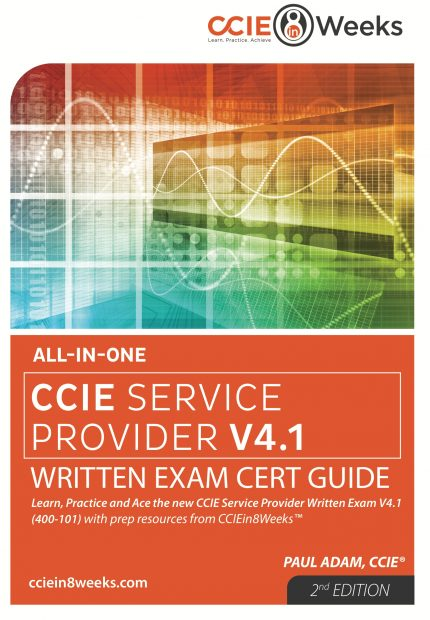 CCIE Service Provider 400-201 V4.1 Front Cover