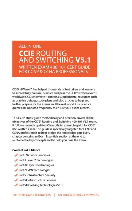 CCIEin8Weeks CCIE R&S CCNP CCNA Study Guide V5.1 back