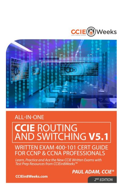 CCIEin8Weeks CCIE R&S CCNP CCNA Study Guide V5.1 front