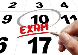 time for exam