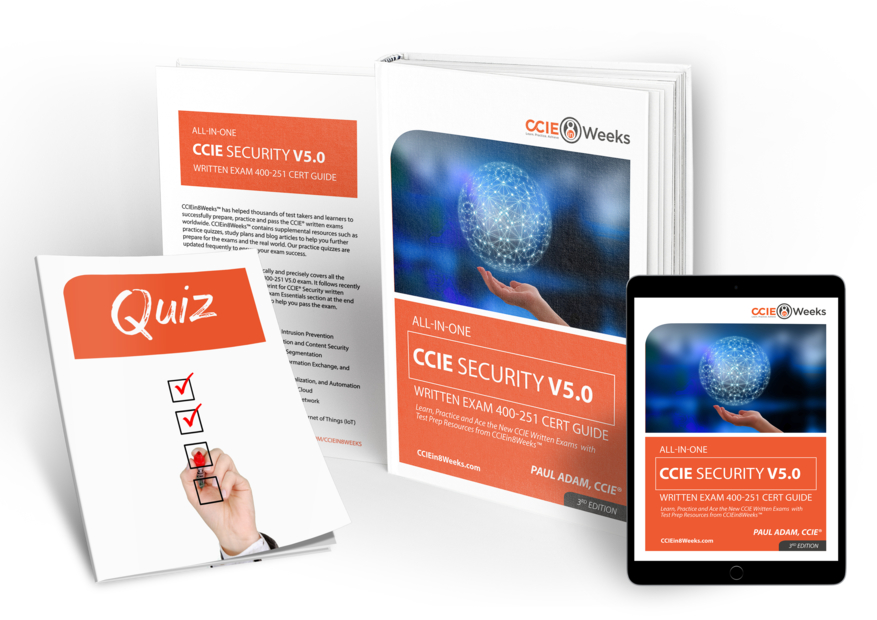 All in One CCIEin8Weeks CCIE Security Study Guide V5.0 3D