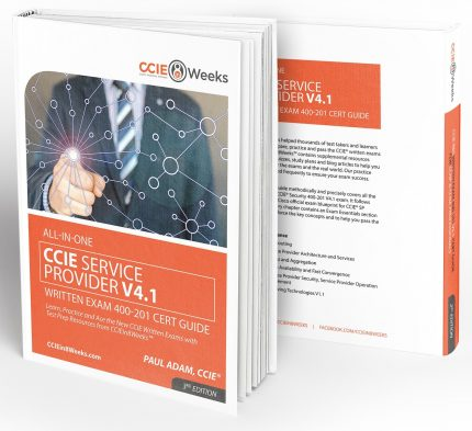 CCIEin8Weeks CCIE SP Study Guide V4.1 3D