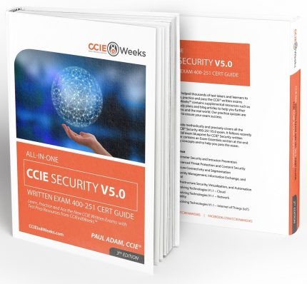CCIEin8Weeks CCIE Security Study Guide V5.0 3D