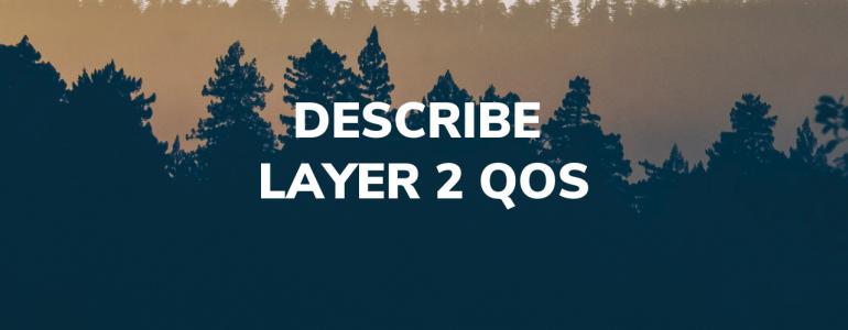 Describe layer 2 QoS