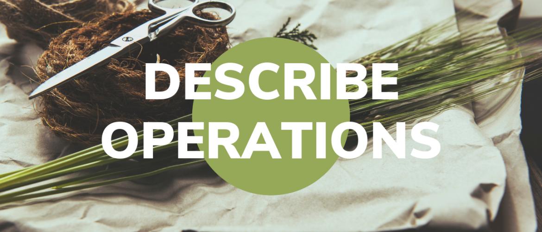 Describe Operations