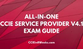 CCIE Service Provider (400-201 V4.1) Exam Cert Guide, 3rd Edition