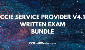 CCIEin8Weeks CCIE Service Provider (400-201 V4.1) Written Exam Prep Bundle