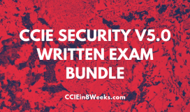 CCIEin8Weeks CCIE Security 400-251 v5.0 Written Exam Prep Bundle