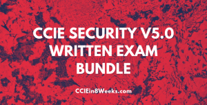 CCIEin8Weeks CCIE Security 400-251 v5.0 Written Exam Prep Bundle