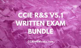 CCIEin8Weeks CCIE R&S V5.1 Written Exam Prep Bundle