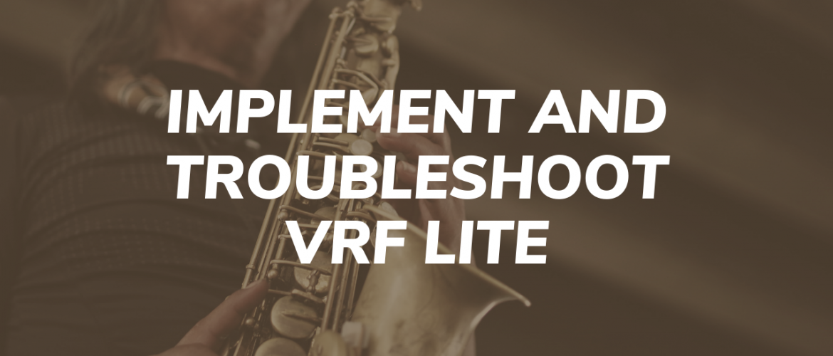 Implement and Troubleshoot VRF Lite