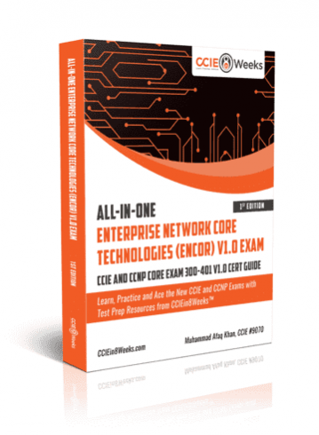ccie ccnp core encore enterprise infrasturcture and wireless exam study guide1