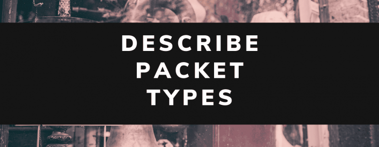 describe packet types eigrp