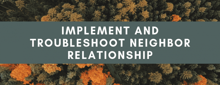 implement and troubleshoot neighbor relationships eigrp