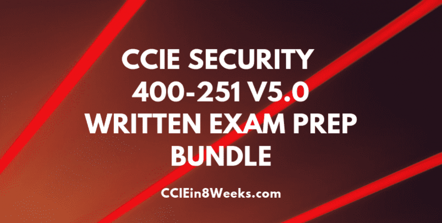 ccie security 400-251 v5.0 written exam prep bundle