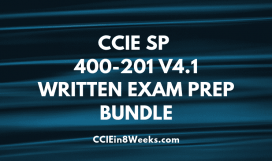 ccie sp 400-201 v4.1 written exam prep bundle