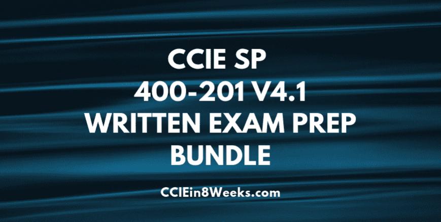 ccie sp 400-201 v4.1 written exam prep bundle