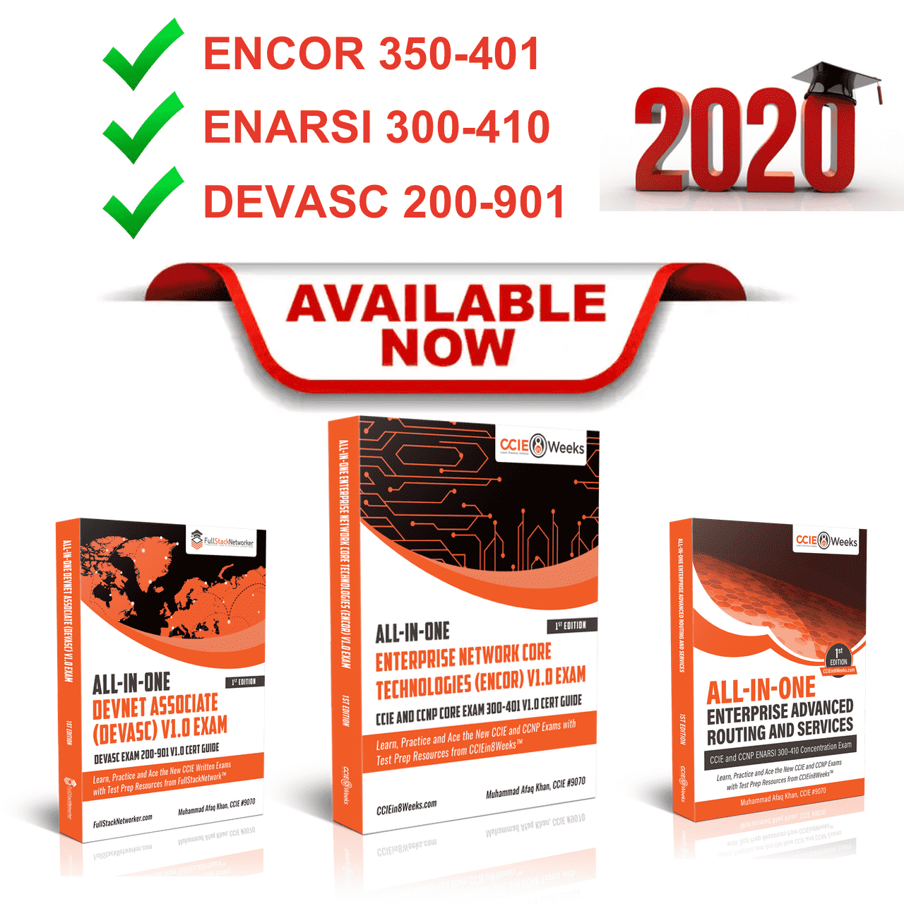 cisco encor enarsi devasc exam cert study guide