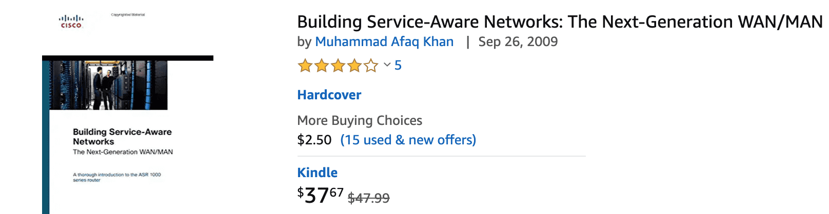 building service-aware networks