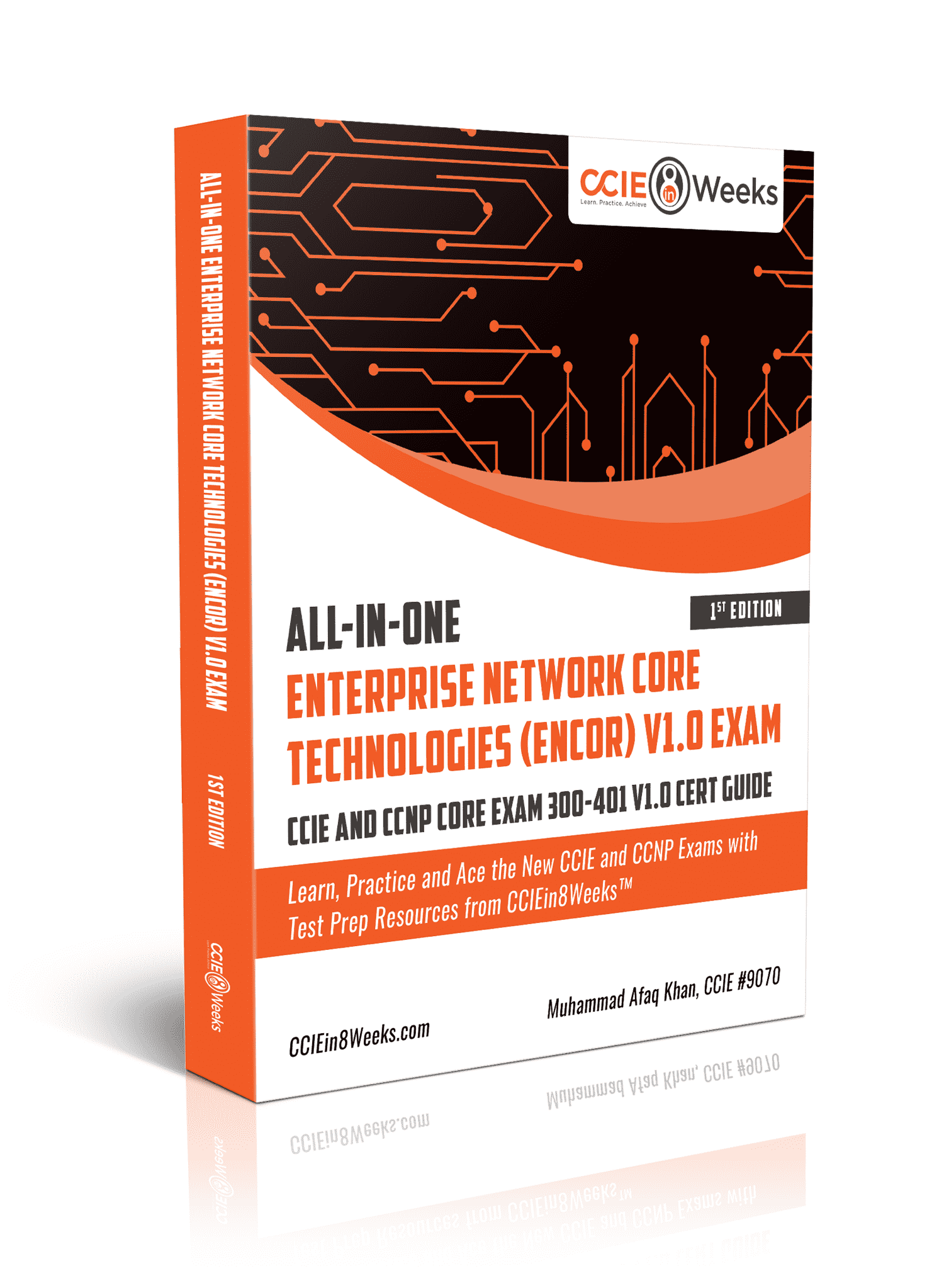 Cisco Enterprise Network Core Technologies ENCOR 350-401 Exam Cert Study Guide Paperback