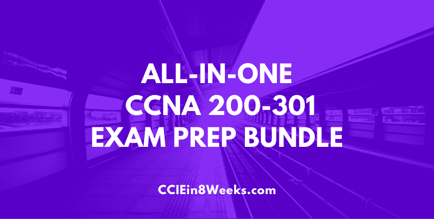 All in one cisco certified network associate ccna 200-301 exam prep bundle course