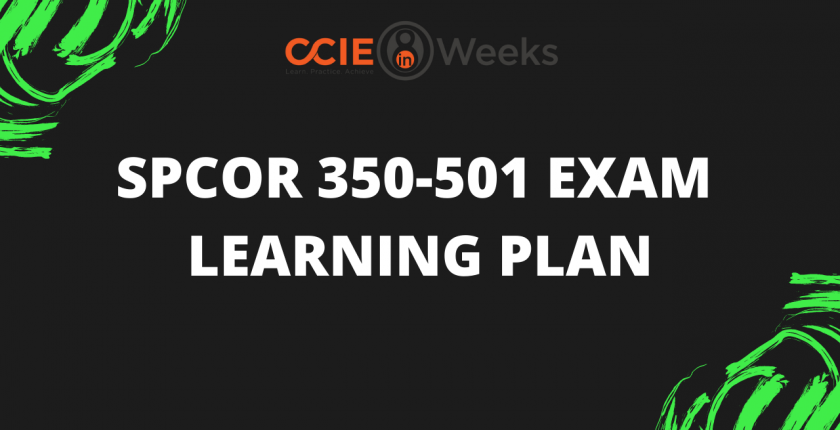 ccie ccnp service provider core spcor 350-501 exam
