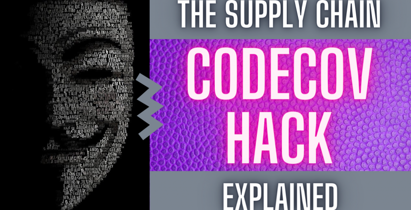 codecov supply chain attack explained