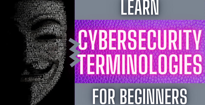 cyber security basic terms and concepts for beginners